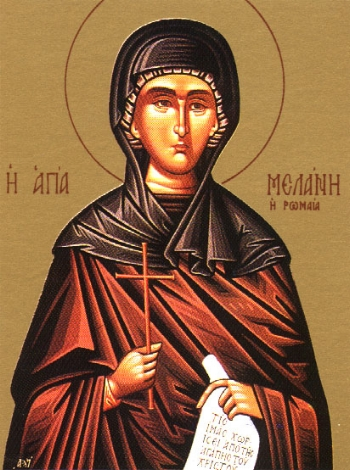 Venerable Melania the Younger  Please click on Icon to view bulletin
