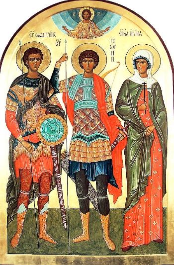 Martyr Valentine in Moesia, Bulgaria