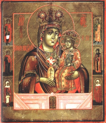 """The Icon of the Mother of God """"the Softener of Evil Hearts"""""""