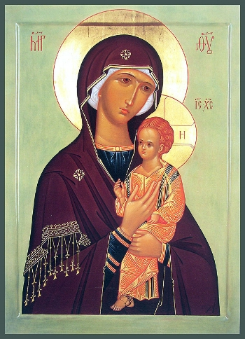 The Icon of the Mother of God of Pimen