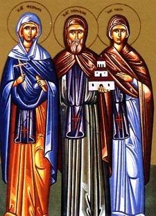 Virginmartyr Febronia of Nisibis