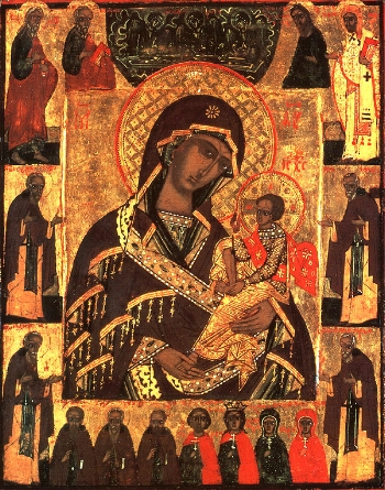 Icon of the Mother of God of Rzhevsk