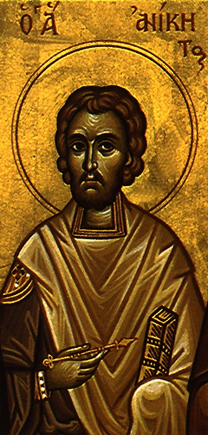 Martyr Anicetus of Nicomedia  Please click on Icon to view bulletin
