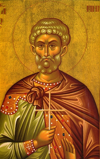 St. Menas of Egypt  Please click on Icon to view bulletin