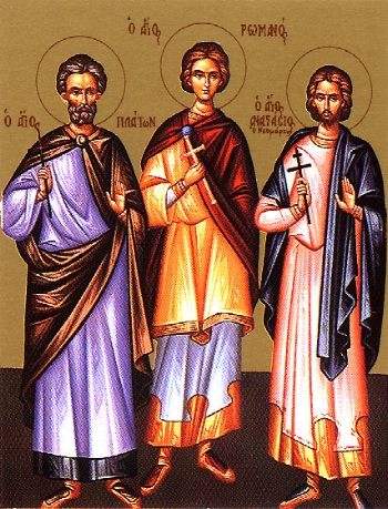 Martyr Plato of Ancyra  Please click on Icon to view bulletin