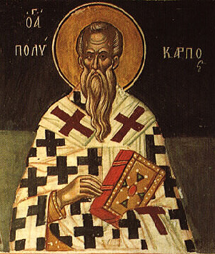 Hieromartyr Polycarp, Bishop of Smyrna