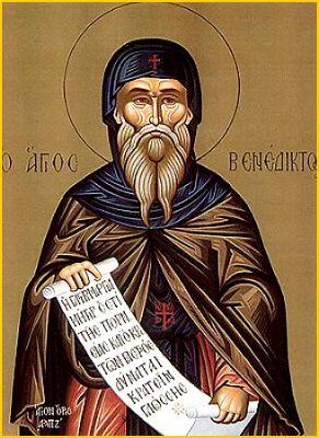 Venerable Benedict of Nursia