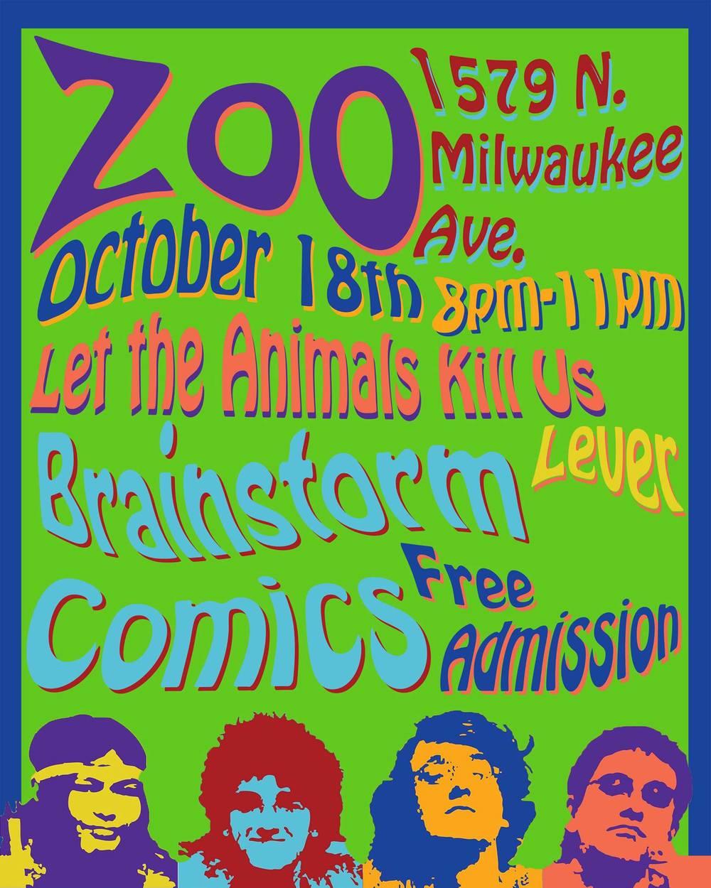 10/18/13 @ Brainstorm COMICS