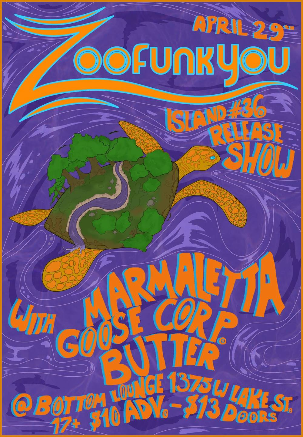 Island #36 release show natalia