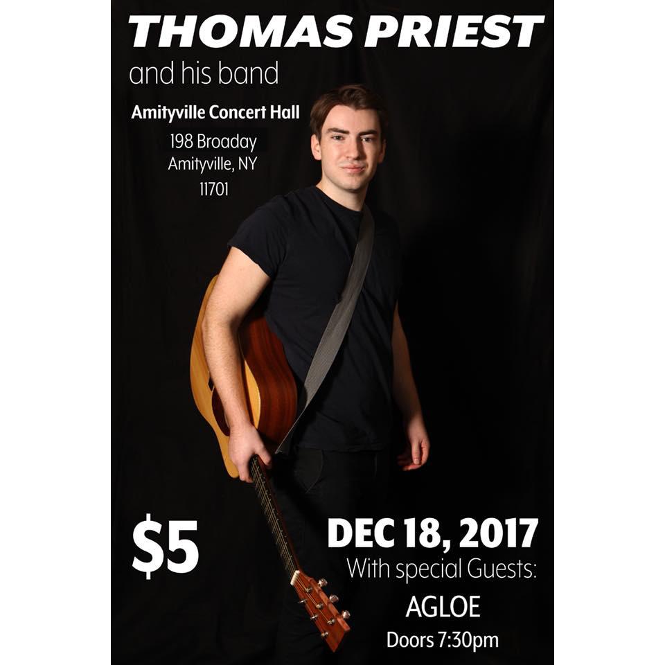 Thomas Priest EP Release - AGLOE$516+ w/ ID