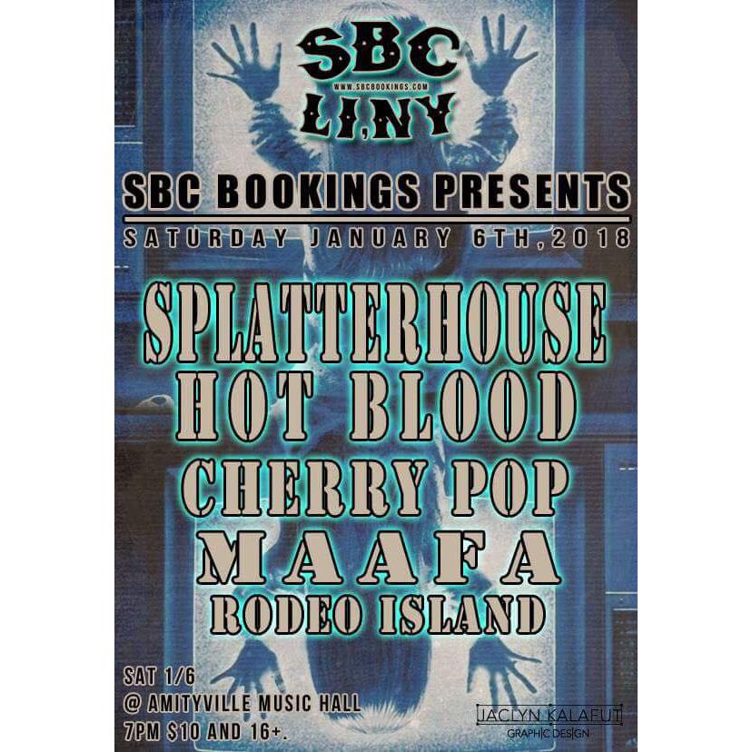 Splatterhouse - Hot Blood, Cherry Pop, Maafa, and Rodeo Island$1016+