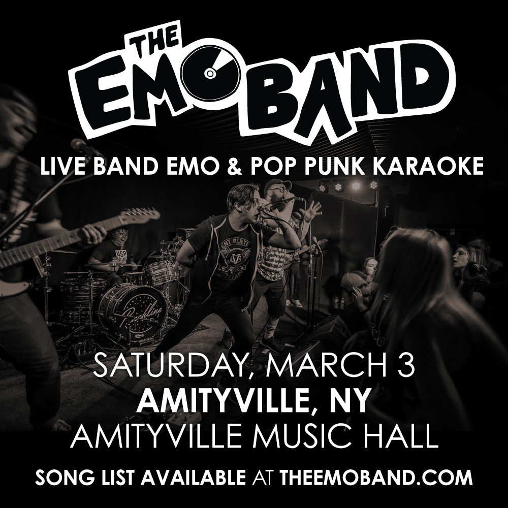 The Emo Band - Live Band Emo & Pop Punk Karaoke$5 ADV / $10 DOS21+ w/ ID