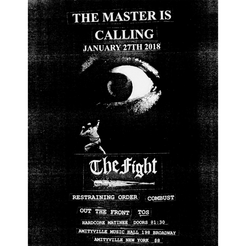 The Fight - Restraining Order, Combust, Out The Front, T.O.S$816+