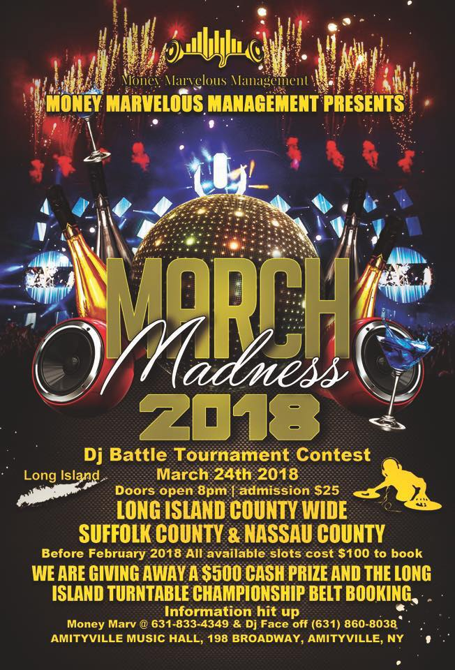 March Madness DJ Battle - $2516+ w/ ID