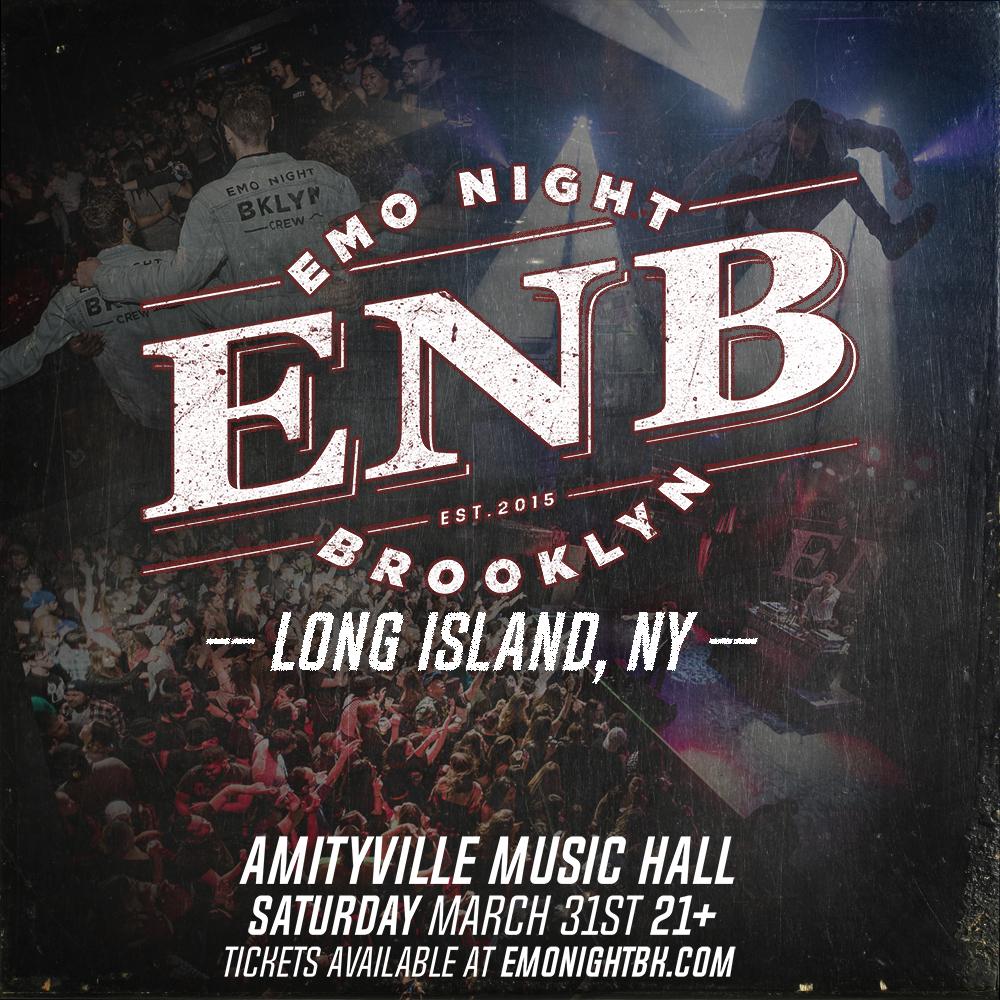 Emo Night: Brooklyn - $15 ADV21+ w/ ID