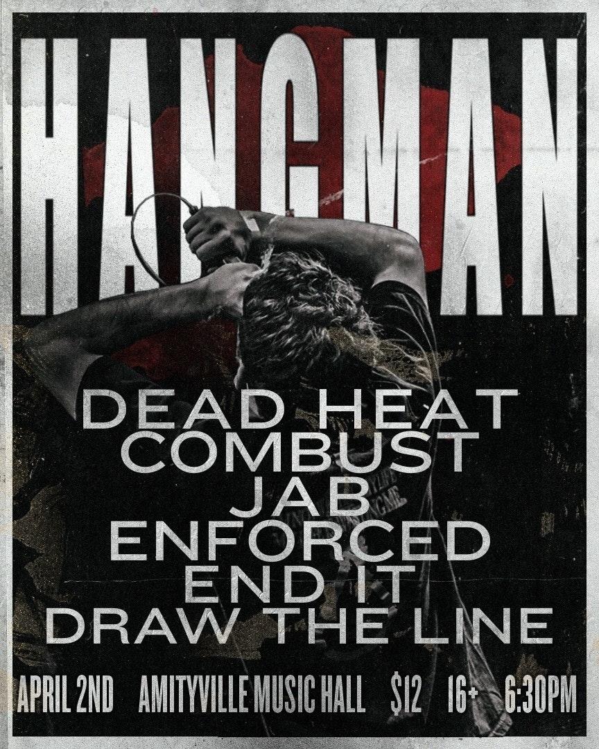 HANGMAN - Dead Heat,Combust,Jab,Enforced,End It,Draw The Line$1216+ w/ ID
