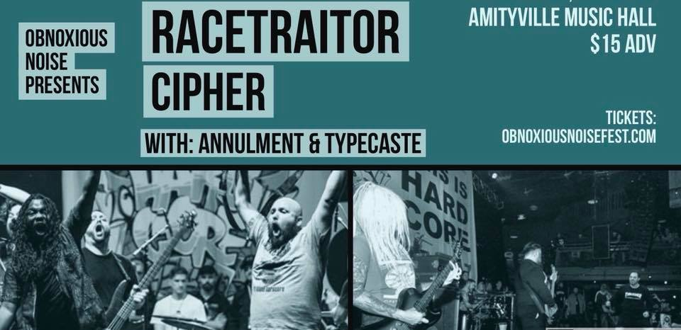 RACETRAITOR - Cipher, Annulment, and Typecaste$15 ADV16+ w/ ID