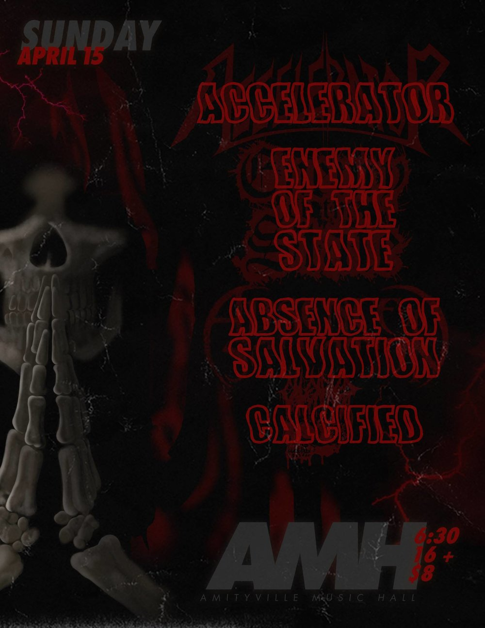 Accelerator - Enemy Of The State,Absence of Salvation, Calcified$8 ADV16+ w/ ID