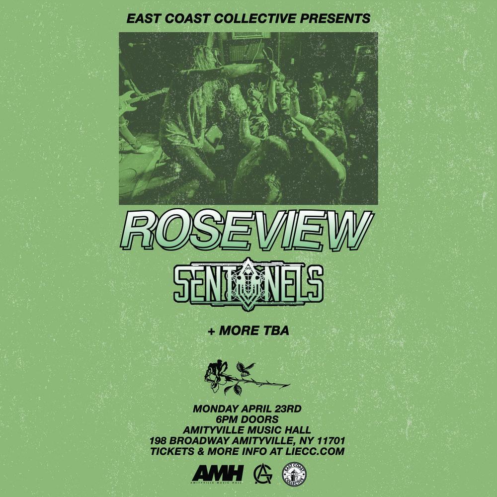 Roseview - Sentinels, Basilisk, + more TBA$12 ADV16+ w/ ID