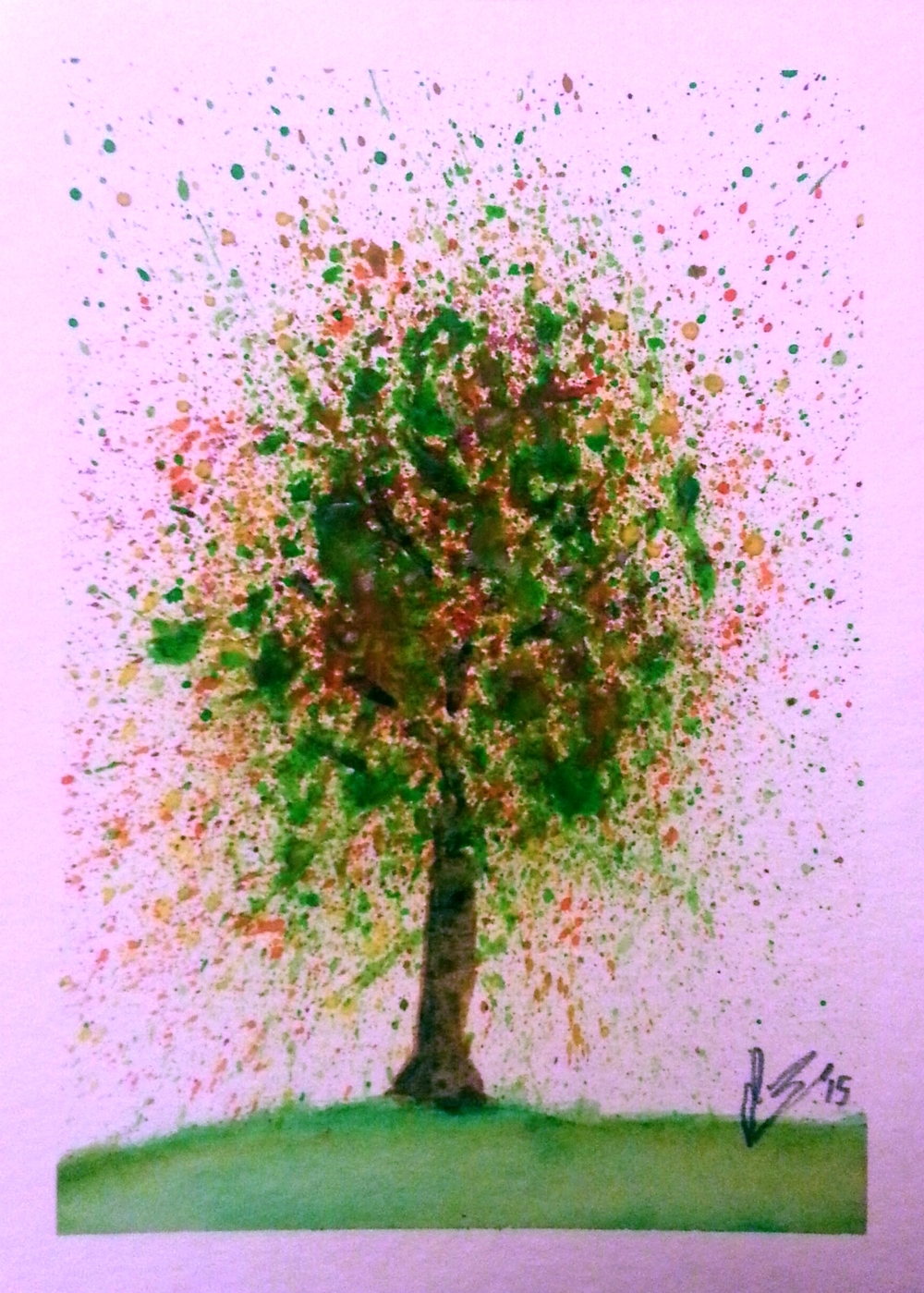 May, 2015  If Jackson Pollock were a tree...