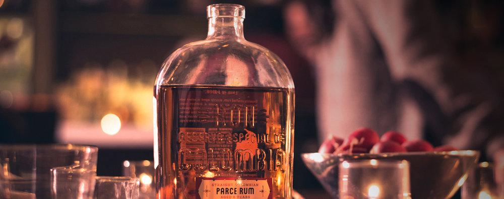 Parce Rum - Brand Strategy | Creative Direction | Trade Marketing