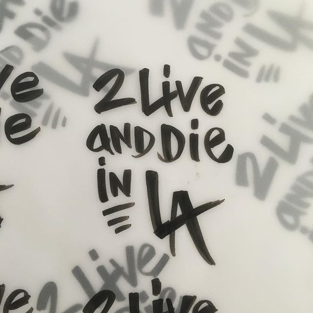 Got a new brush pen today which also happens to be the 20th anniversary of Tupac's death. #handlettered