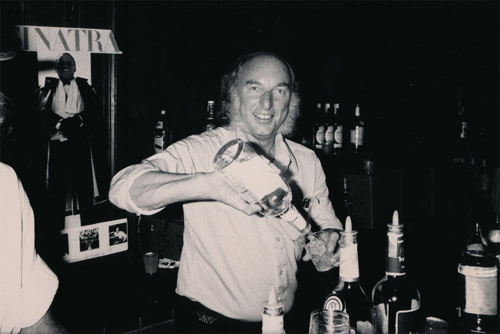 Tower Records Founder Russ Solomon at Tower Sunset  (1980)