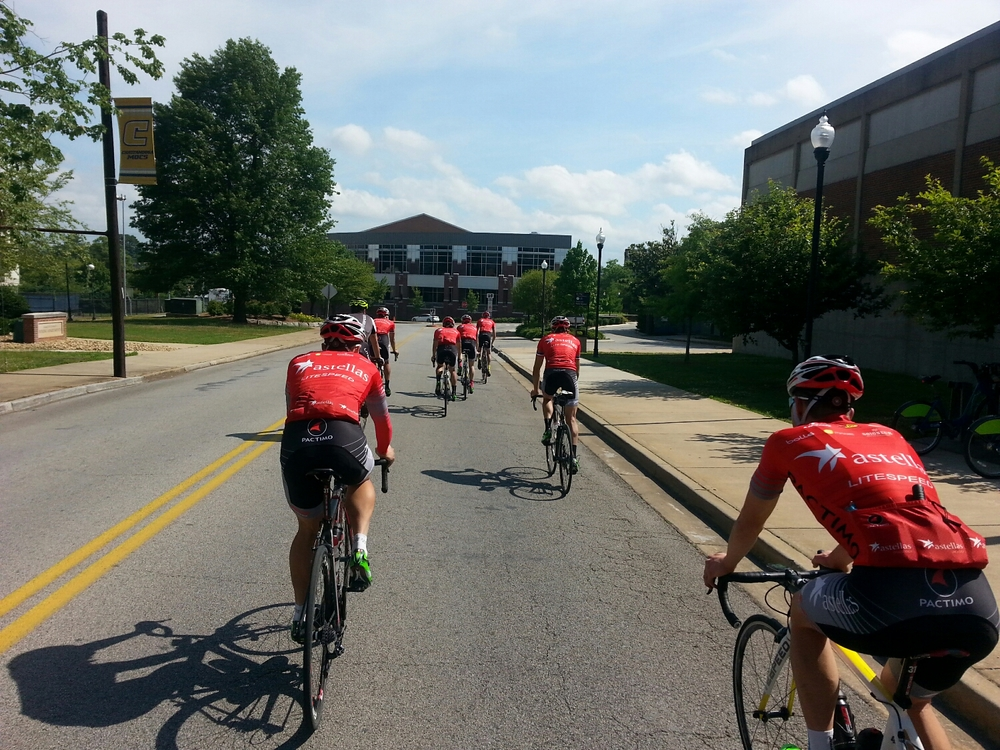 Preride of the course with Sam from LiteSpeed