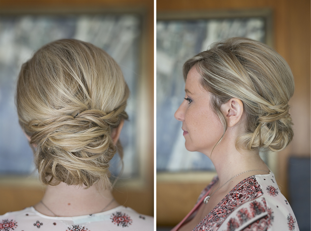 Didn't Annie Yamakawa doing a beautiful job with Jaime's hair?!? She did Tosha's hair as well. Call her up if you need a stylist for your big day!