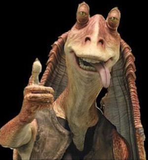 Yeah, let's make Jar Jar our Senate representative, brilliant idea.