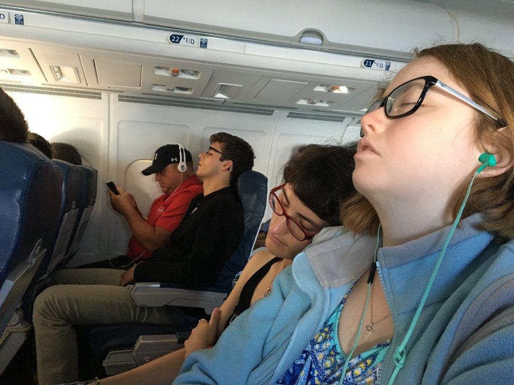 Everyone fell asleep on me.