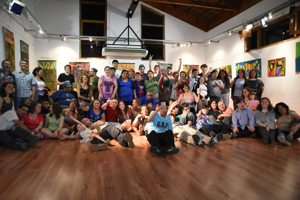 End of year group photo at Cre-arte