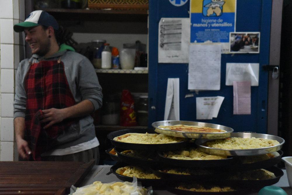 Pizza at Cre-arte