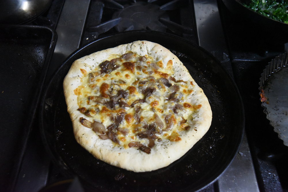 The best pizza I ever made