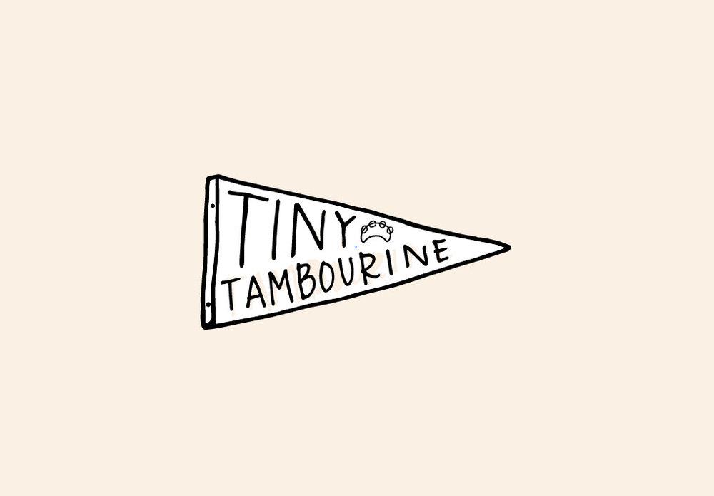 Tiny Tambourine Mockup