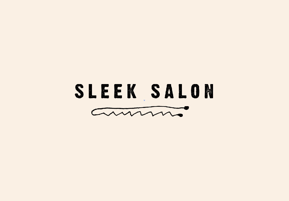 Sleek Salon Secondary Logo