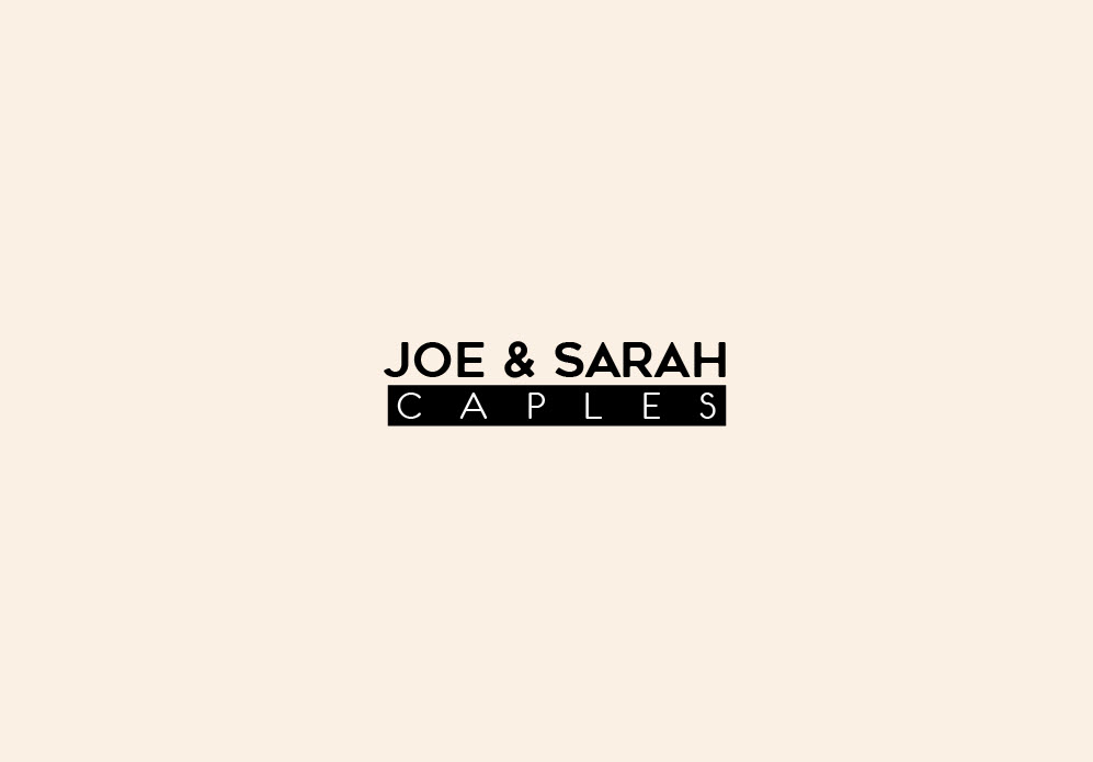Joe & Sarah Caples Logo