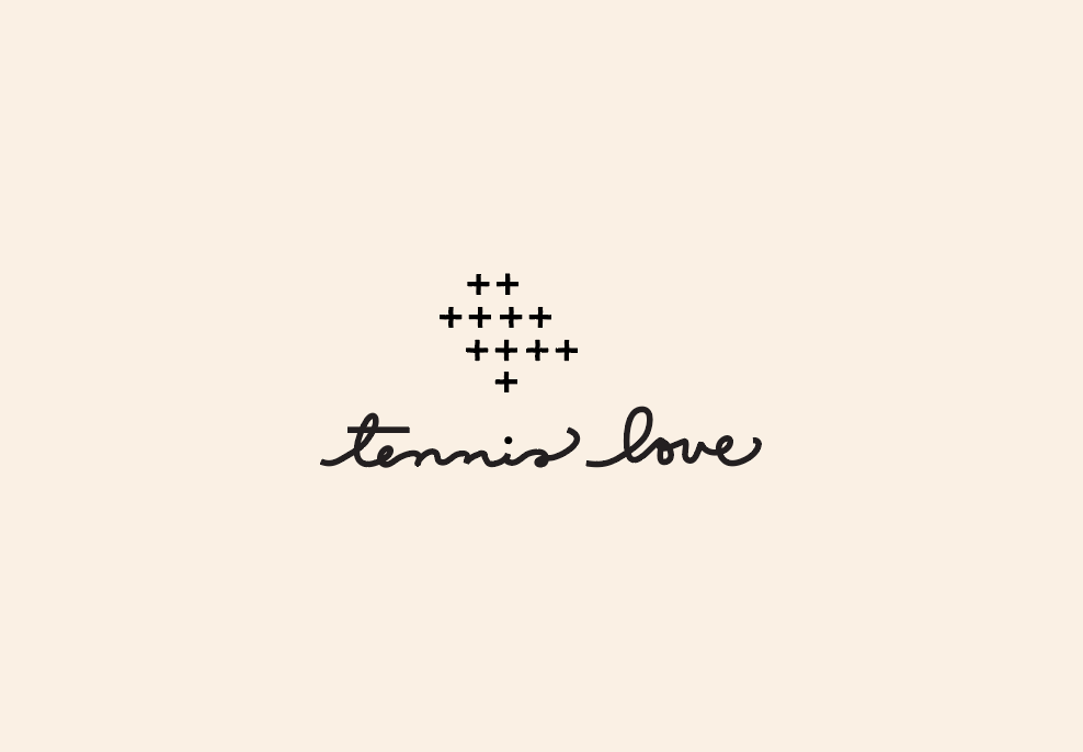 Tennis Love Logo