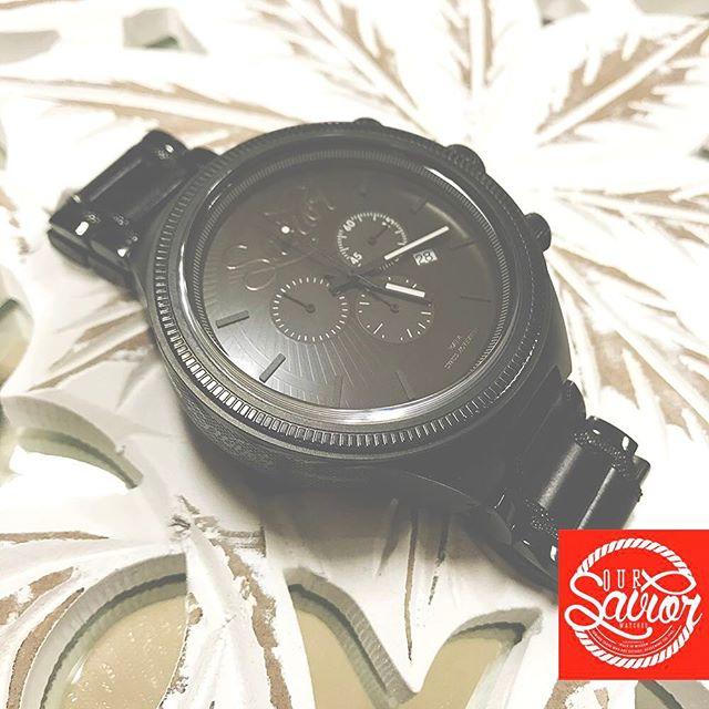 Ebony Wood meets Stainless Steel... The Messenger Watch by #Savior Watches. Coming this #Spring!