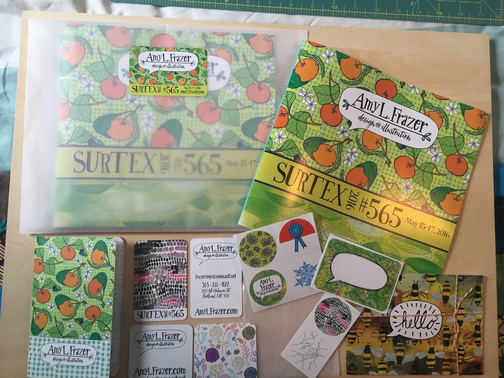 Surtex Press Kit Contents