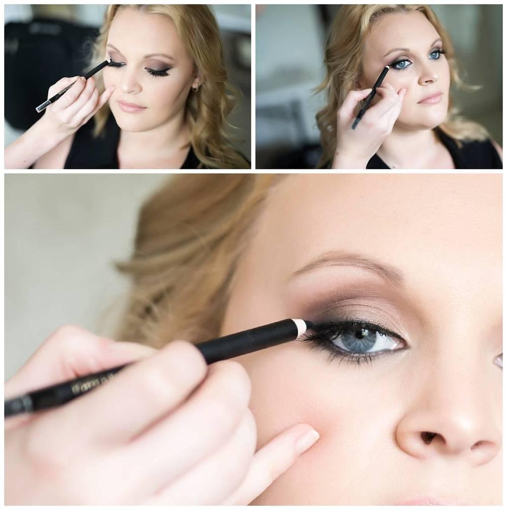 Boudoir glamour makeup