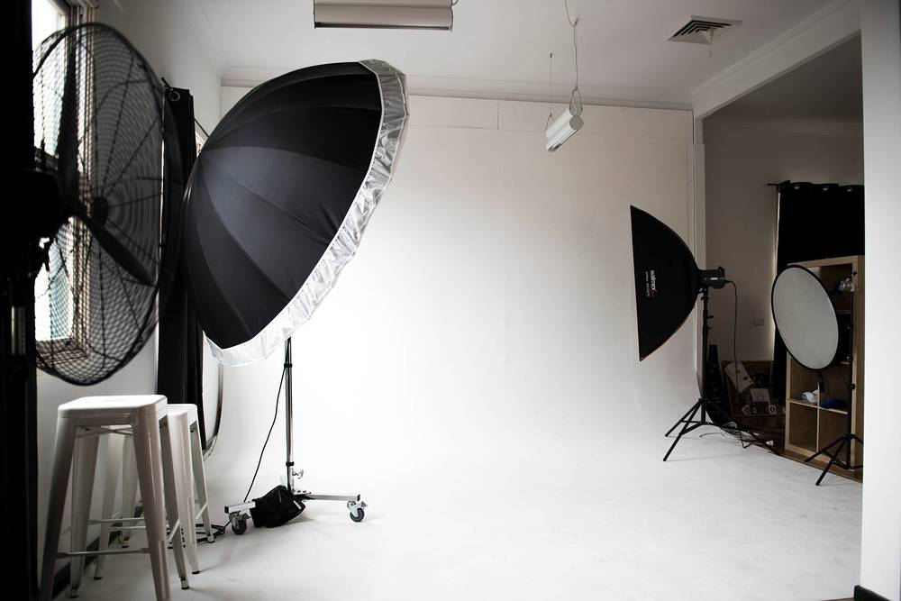 The cyclorama for fashion shoots