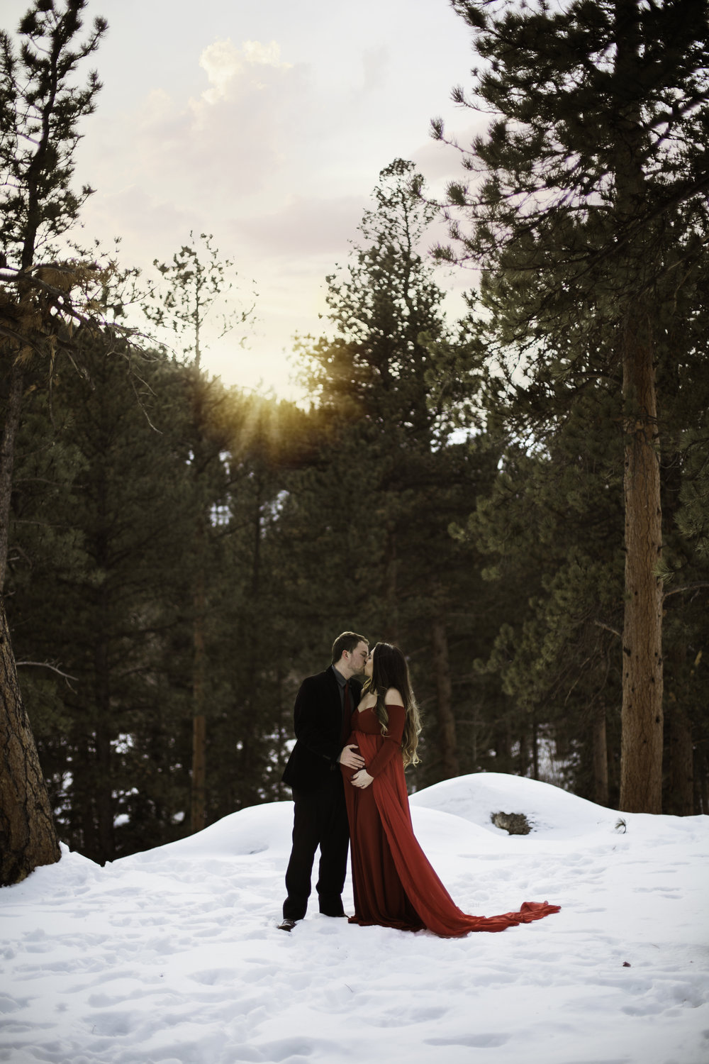 maternity photographer colorado babymoon