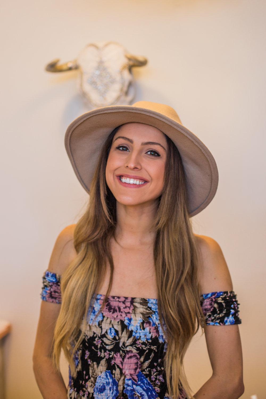 The lovely owner & Co-Founder of Meraki Moon, Sophia Joseph.