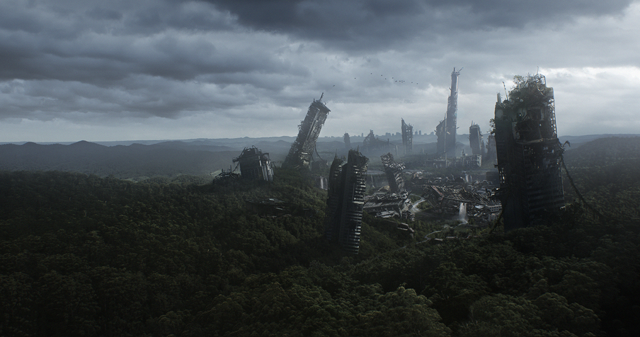 Igor staritsin matte paintings mattepainting org for Space matte painting