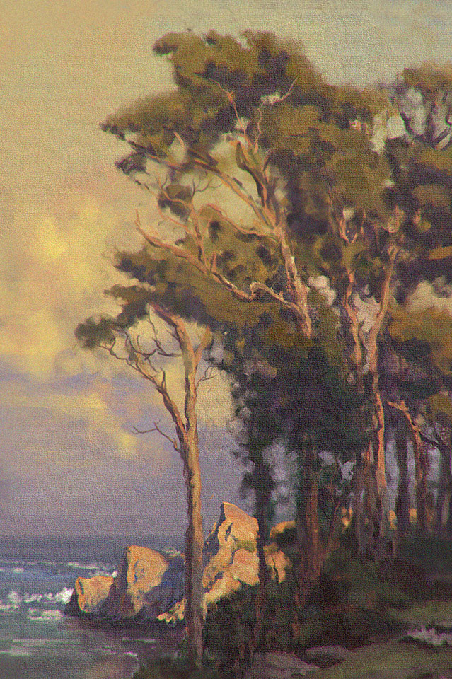 Study of Christensens's painting