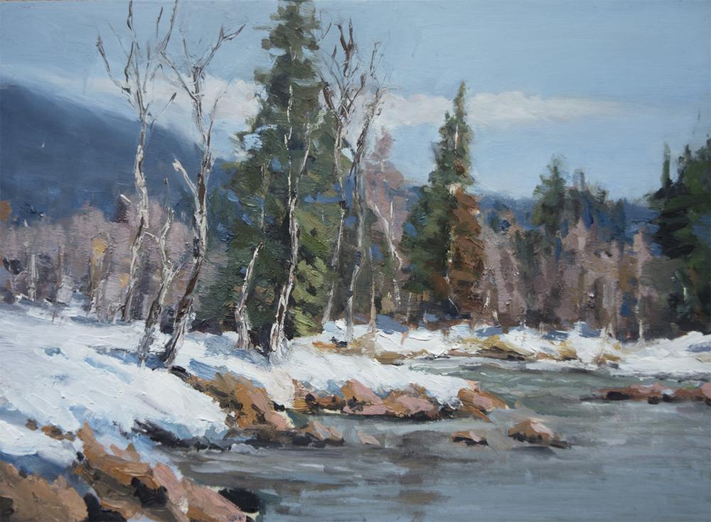 Study of Scott Christensen's painting