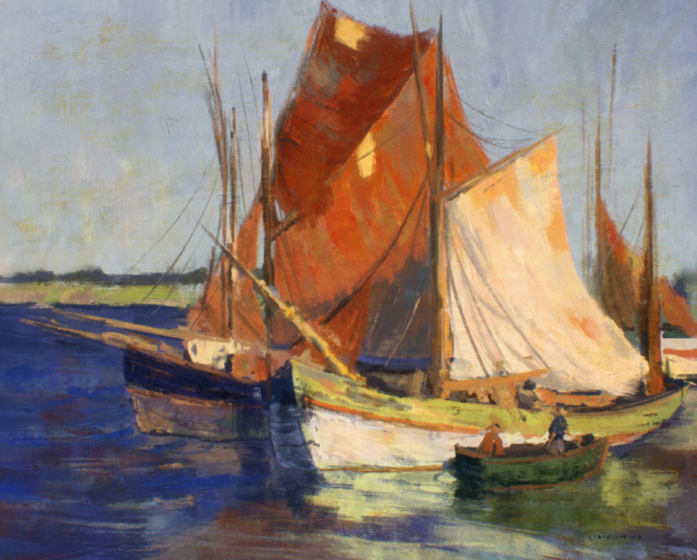 Study, Edgar Payne