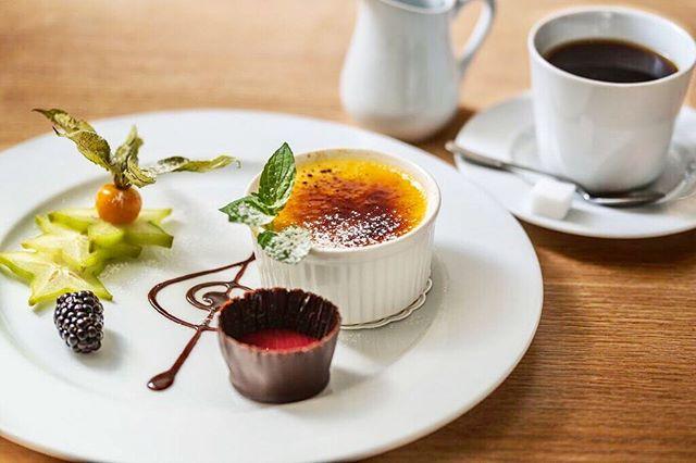 - En god crème brûlée er en fin avslutning på et godt måltid.