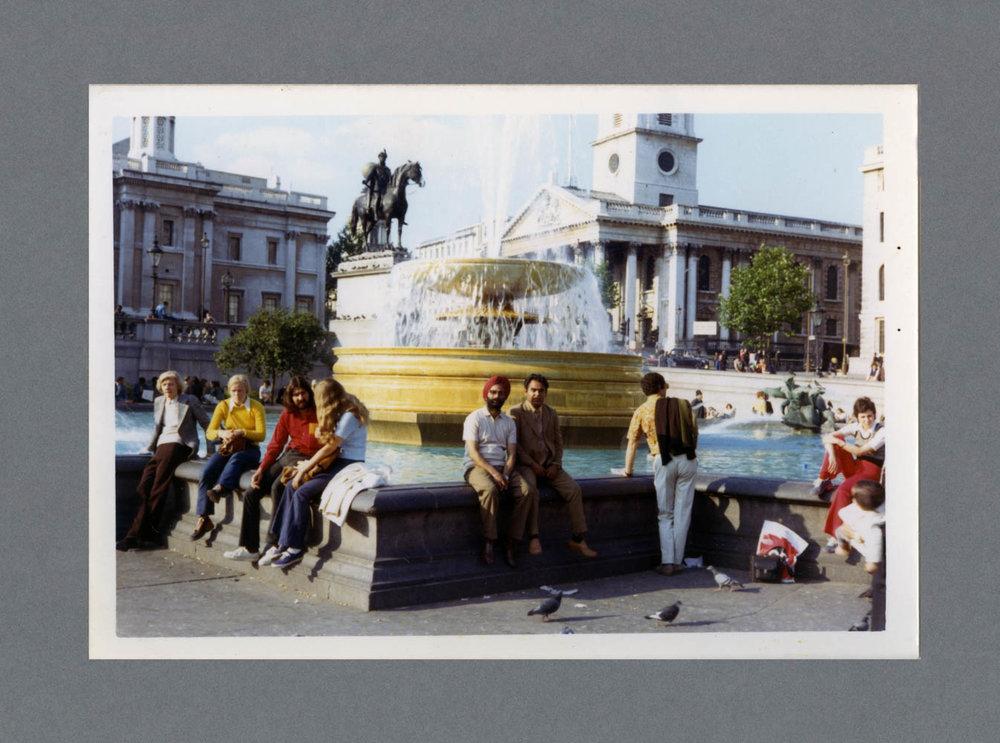 Trafalgar Square, London c.1973